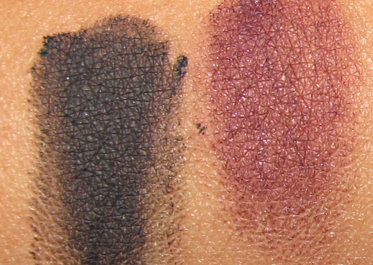 MAC Stylishly Yours swatches fluidline