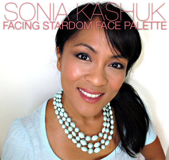 Sonia Kashuk Facing Stardom Face Palette on Karen of Makeup and Beauty Blog