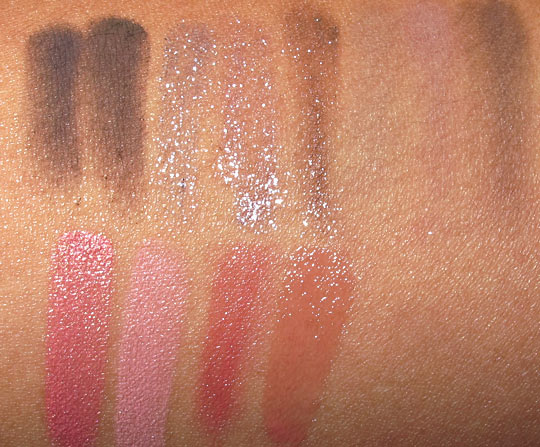 Sonia Kashuk Facing Stardom Face Palette swatches