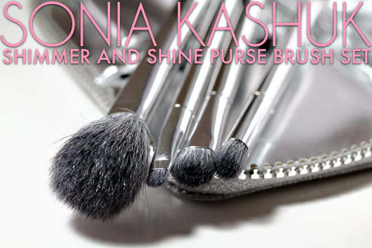 Sonia Kashuk Shimmer and Shine Purse Brush Set