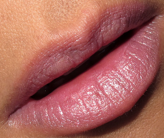 Too Faced Lip of Luxury Lipstick in Free Love Swatch lip swatch