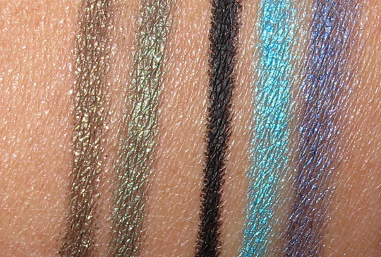 Urban Decay 15-Year Anniversary 24 7 Glide-On Eye Pencil Set review swatches photos