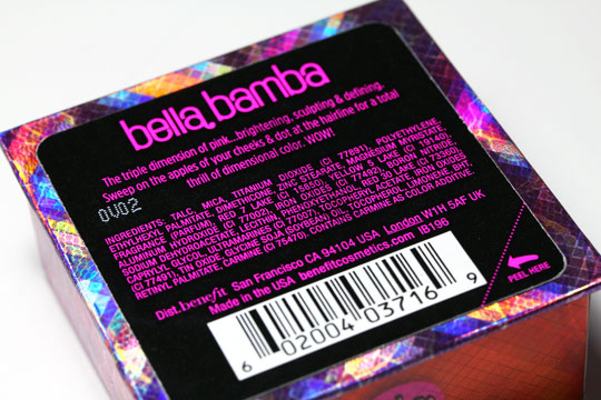 benefit bella bamba review swatches photos 1 back