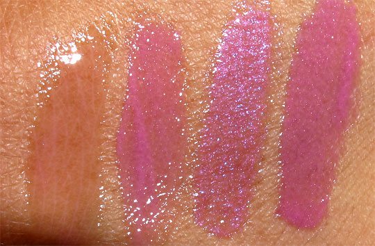 benefit kiss you ultra shines gloss swatches