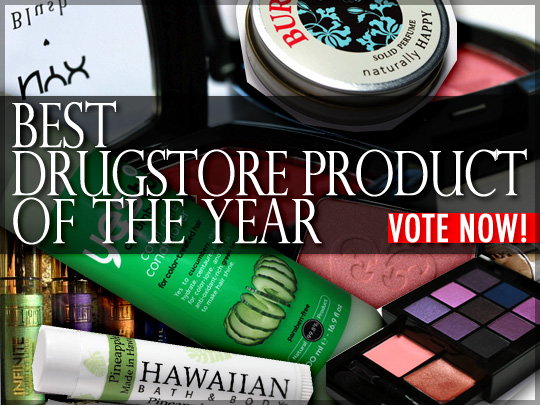 Cast your vote for the best drugstore product of 2010