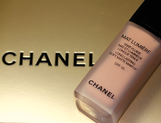 chanel mat lumiere soft honey