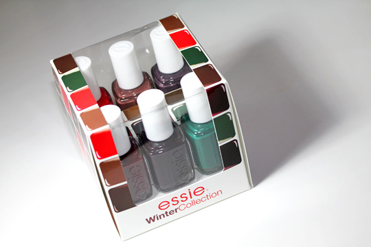 essie winter collection review swatches photos box