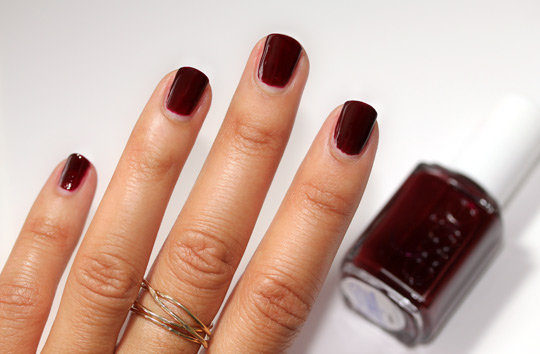 essie winter collection review swatches photos masquerade belle