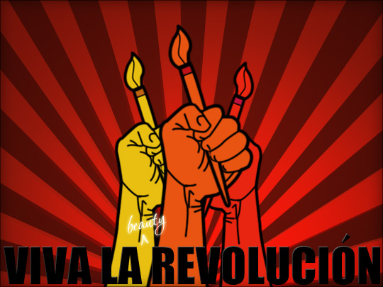 Viva la Beauty Revolution!