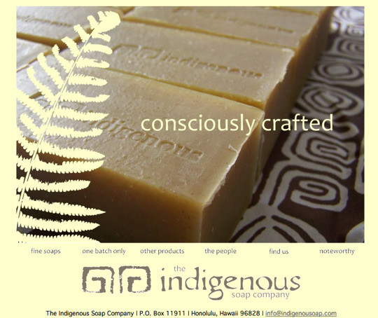 indigenous soap company website