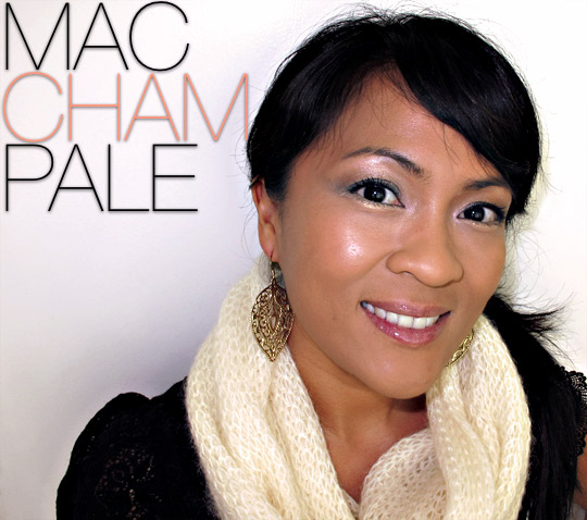 mac champale on karen of makeup and beauty blog
