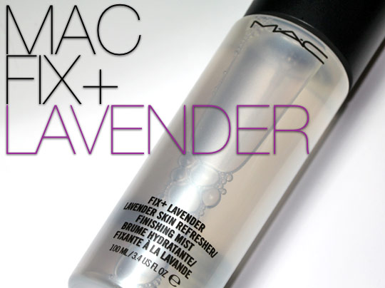 mac fix+ lavender