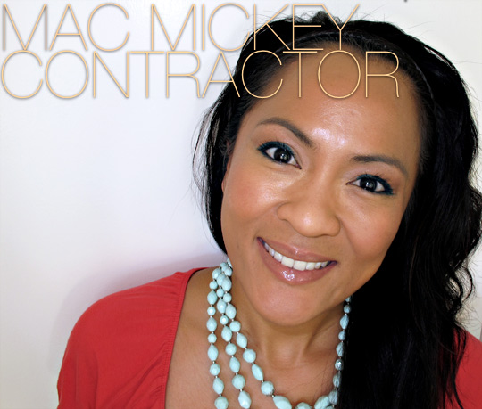 mac flesh lipglass mickey contractor