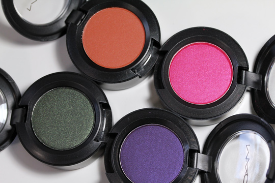 mac mickey contractor eyeshadows