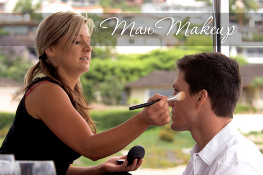 Freelance makeup artist and blogger Sam has some makeup news for the men out