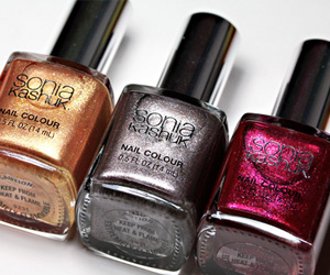 The Sonia Kashuk Reach for the Stars Nail Trio
