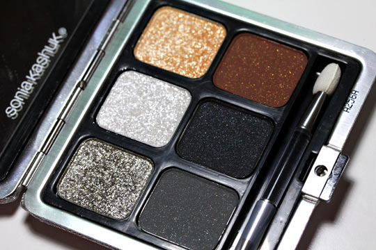 Sonia Kashuk What Glitters Glows Eye Palette