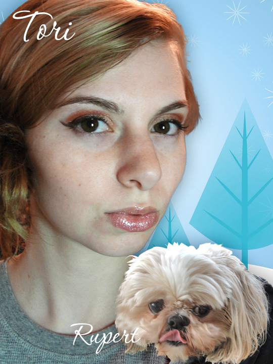 Happy Holidays from Tori and Rupert