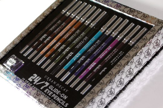 urban decay spring 2011 24/7 glide on eye pencil set 15 year anniversary collection