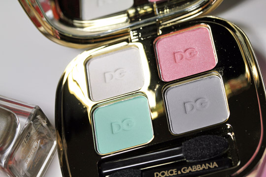 Dolce Gabbana Secret Garden Eden Smooth Eye Colour Quad