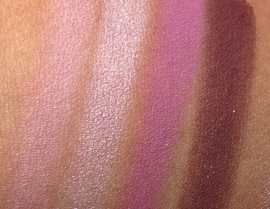 MAC Wonder Woman Swatches Defiance NC35