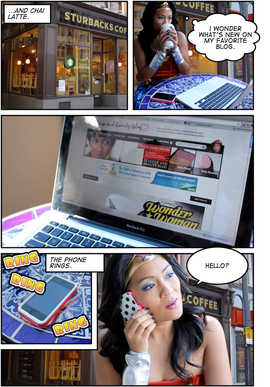 MAC Wonder Woman Comic: Page 2