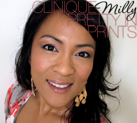 clinique milly pretty in prints palette