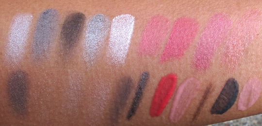 dior montaigne swatches no flash shade