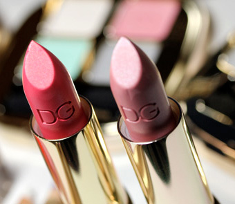The Dolce & Gabbana Secret Garden Ultra Shine Lipsticks and Glosses