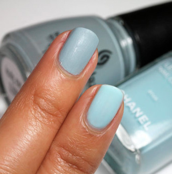 Is China Glaze Nail Lacquer in Sea Spray a Dupe for Chanel Riva?
