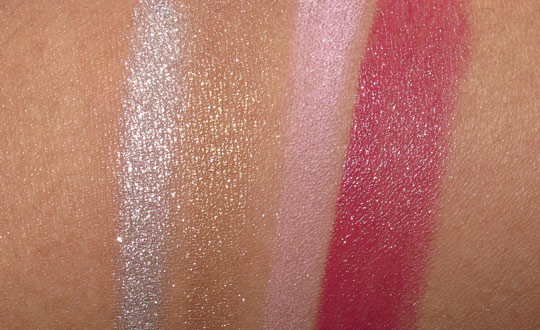 lancome ultra lavande swatches with the flash
