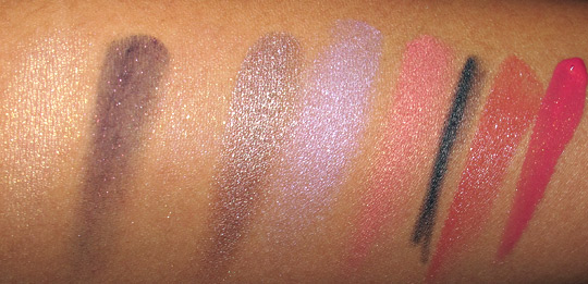 laura mercier silk road swatches with flash