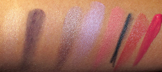 laura mercier silk road swatches without flash