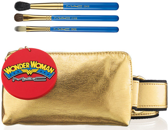 mac wonder woman makeup brush set 1