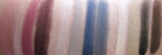 mac wonder woman swatches eye quad without flash nw20