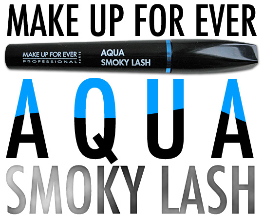 MAKE UP FOR EVER Aqua Smoky Lash Mascara