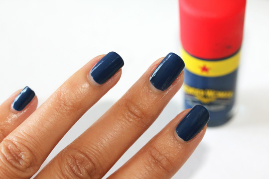mac wonder woman nail lacquer in spirit of truth