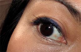 Tarte EmphasEYES Aqua Gel Eyeliner in Shimmering Indigo
