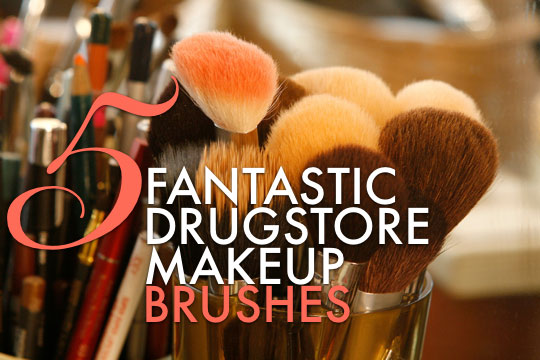 5 fantastic drugstore makeup brushes