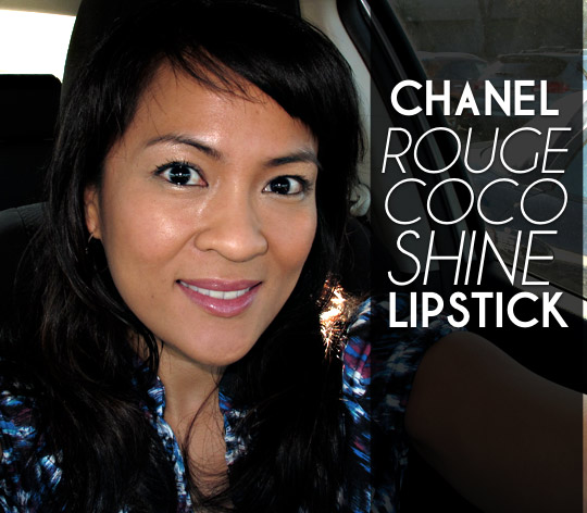 CHANEL rouge coco shine lipstick review