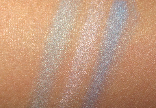Rimmel Glam Eyes Trio Eye Shadow in Maritime swatches