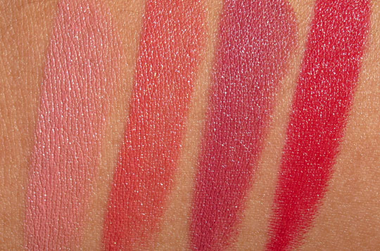 bobbi brown rich lip color swatches