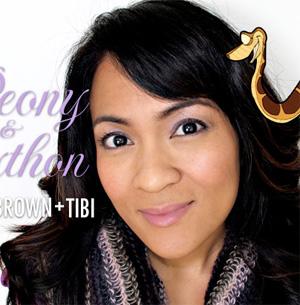 The Bobbi Brown + Tibi Peony & Python Collection