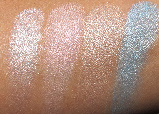 buxom stay there eye shadow swatches spring 2011 with the flash