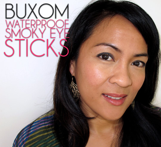 buxom waterproof smoky eye stick