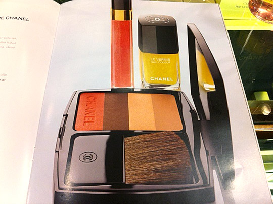 chanel le fleurs d'ete de chanel makeup collection for summer 2011