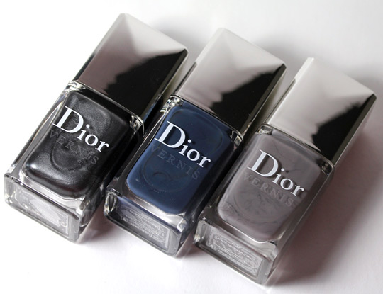 dior vernis gris city nail polishes