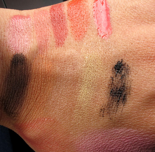 givenchy naivement couture swatches without flash