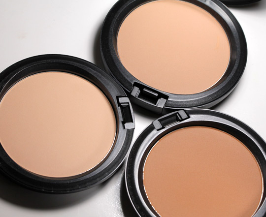 MAC Future Face Collection Studio Careblend Pressed Powders