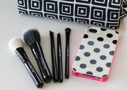 mac packed to go 5 shape perfect brushes 2